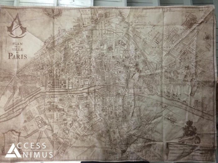 Assassin S Creed Unity Map Has Potentially Been Leaked Negaming